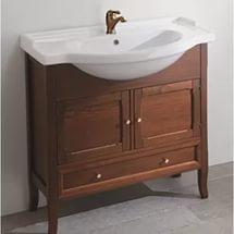 Arianna 85 noceМебель для ванной<br>Тумба под раковину Eban Arianna 85, цвет орех. Ощущение мягкости, которое излучает мебель Eban, и неповторимый узор прожилок обеспечиваются благодаря обработке дерева, сохраняющей открытые поры.Такая отделка подчеркивает самые естественные характеристики дерева и его натуральность. Цена указана за тумбу. Все остальное приобретается дополнительно.<br>