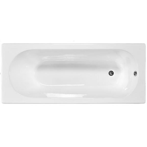 Nathalie E2966-00 БелаяВанны<br>Ванна чугунная Jacob Delafon Nathalie E2966-00, размер 1700x700 мм.  Материал: чугун высокого качества. Цвет белый.<br>