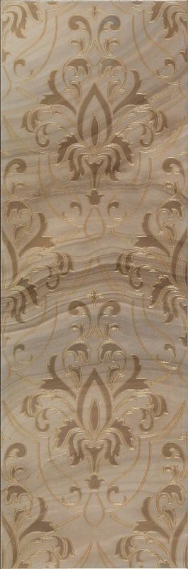 Керамический декор ArtiCer Agate Inserti Taupe Damasco 25х75 см