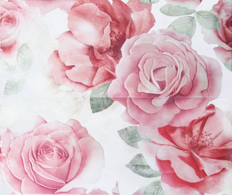 Керамическое панно ArtiCer Floreale Onyx Rosone Bianco 2 Pz 1046643 61х72,5 см стоимость