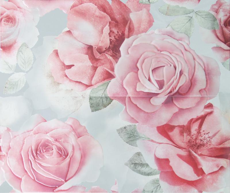 Керамическое панно ArtiCer Floreale Onyx Rosone Grigio 2 Pz 1046714 61х72,5 см стоимость