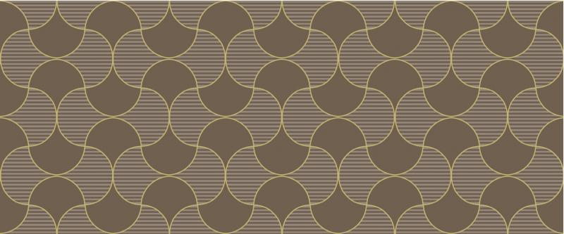 Керамический декор ArtiCer Gold Flow Taupe 25х60 см цена 2017