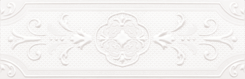 Керамический бордюр ArtiCer Vendome Lis. Bianco 10х30,5 см цены онлайн