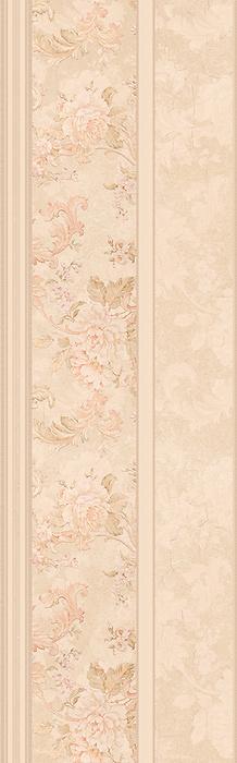 Керамическая плитка ITT Ceramic Valentina Line Beige настенная 25х80 см