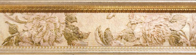Керамический бордюр ITT Ceramic Valentina Cenefa Beige 7х25 см