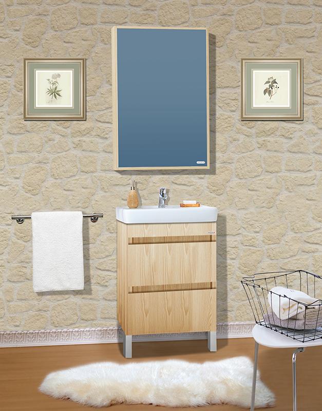 Дорис 60 дуб бордолиноМебель дл ванной<br>Тумба под раковину Бриклаер Дорис 60 с двум выдвижными щиками. Выполнена в естественных тонах. Корпус и фасад выполнены из ЛДСП в декоре беленого дуба. Тумба провлет устойчивость к влажному воздуху и длительное врем сохранет свой первоначальный внешний вид.<br>