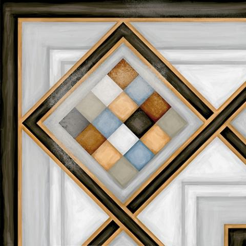 Керамический декор Vives Ceramica Vodevil Pombo-3 multicolor 20х20см цены