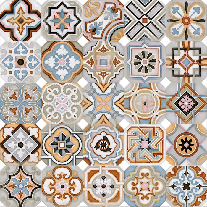 Керамический декор Vives Ceramica Vodevil Octogono Musichalls Multicolor 20х20см цены