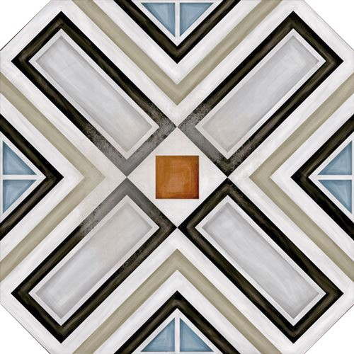 Керамический декор Vives Ceramica Vodevil Octogono Ritter Multicolor 20х20см цены