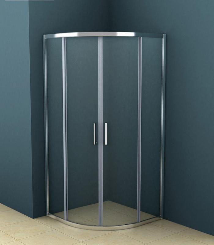 Душевой уголок Azario AZ-121S A 90x90 профиль хром, стекло прозрачное цены онлайн