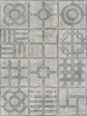 Керамическая плитка Vives Ceramica World street Paulista Cemento Antideslizante напольная 20х20 см