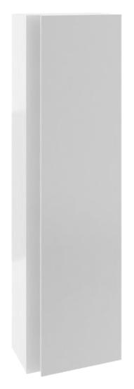 SB 10° 45 серый глянцевыйМебель для ванной<br>Шкаф пенал подвесной Ravak SB 10° 45 X000000752 для ванной комнаты. Изготовлен из импрегнированной плиты ДСП и МДФ со специальной влагостойкой пропиткой, с одной распашной дверцей и с тремя деревянными полками за ней. Пенал оригинально открывается с помощью усеченных граней дверцы. Простой в уходе, универсальный в установке - повернув его на 180 градусов можно размещать как с левой, так и с правой стороны.<br>
