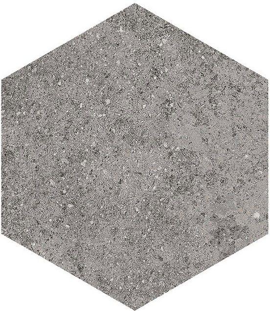 Керамогранит Vives Ceramica Aston Hexagono Benson Basalto 23x26,6 см