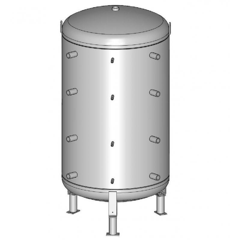 Буферная ёмкость ACV LCA 1000 P Серый