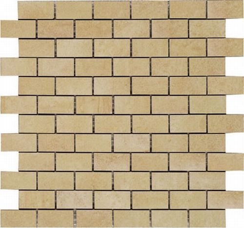 Керамическая мозаика Vives Ceramica Oregon-C Mosaico Rectangular Crema 30х30 см