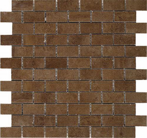 Керамическая мозаика Vives Ceramica Oregon-C Mosaico Rectangular tabaco 30х30 см