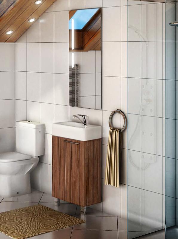 Эклипс 46 Н Эбони темныйМебель для ванной<br>Компактная тумба под раковину Акватон Эклипс 46 Н 1A172601EK560 на двух ножках, с двумя навесами, с одной распашной дверцей и одной полкой за ней, легко открывается без ручки. Ножки позволяют обеспечить дополнительную прочность там, где стены не выдержат нагрузки подвесной тумбы. Корпус и фасад выполнены из текстурированной ДСП, которая обладает повышенной влагостойкостью и сопротивляемостью износу, не выделяет вредных испарений, хорошо выдерживает воздействие бытовых химических средств, за исключением абразивных материалов и едких веществ, и жидкостей.<br>