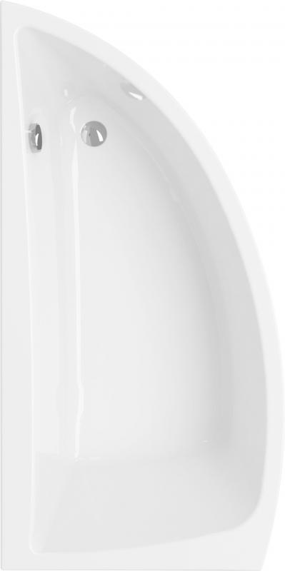 Nano 140 L Белая леваяВанны<br>Асимметричная акриловая ванна Cersanit Nano L.<br>