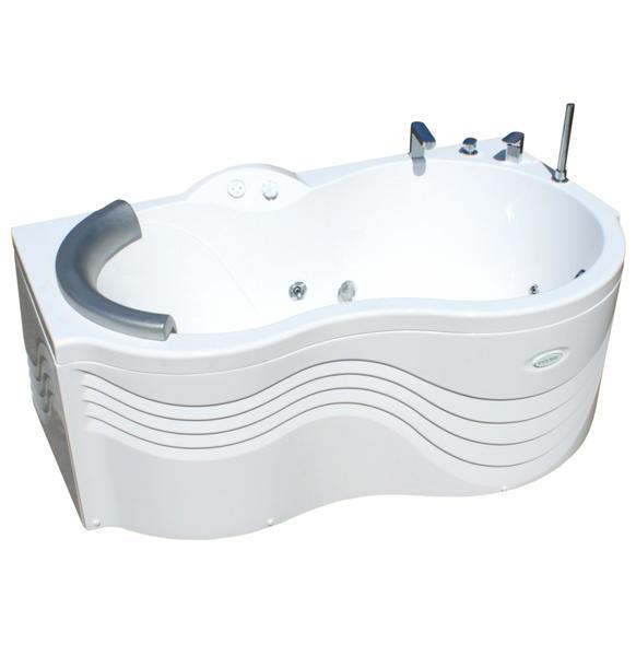 Акриловая ванна Радомир Паллада Chrome 1-01-2-1-3-034