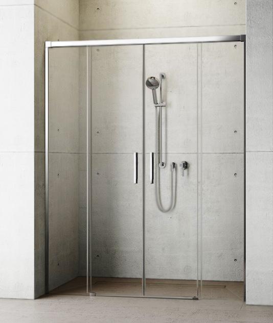 Душевая дверь в нишу Radaway Idea DWD 200x200 профиль хром, стекло прозрачное 387120-01-01