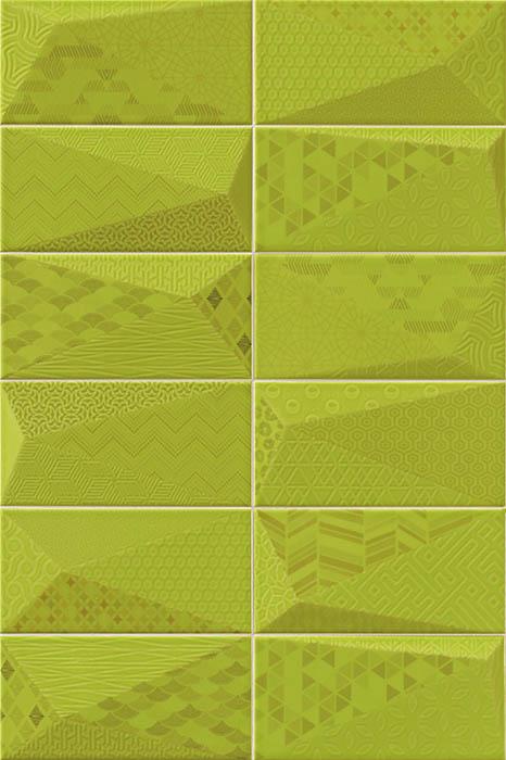 Керамическая плитка Mainzu Fancy Y-Green настенная 10х20
