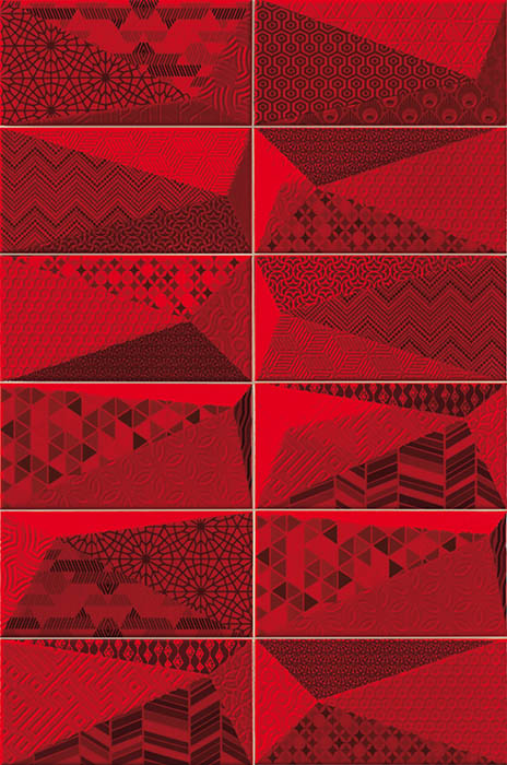 Керамическая плитка Mainzu Fancy Rubi настенная 10х20
