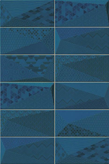 Керамическая плитка Mainzu Fancy Sapphire настенная 10х20