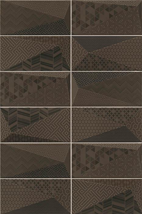 Керамическая плитка Mainzu Fancy Graphite настенная 10х20