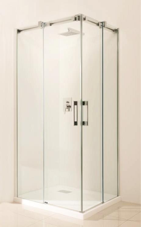Espera KDD 90x200 правая профиль хром, стекло прозрачное, петли справаДушевые ограждения<br>Стеклянная дверь Radaway Espera KDD 90 380151-01R правая  для образования душевого уголка.<br>Дверь на регулируемых роликах. Подшипники роликов со смазкой для надежного, плавного и тихого движения. Держатель порога можно расфиксировать для очистки стекол. Ручки и детали хромированные.<br>Монтаж производится непосредственно на пол или на поддон. Допускается установка с порогом или без путем замены нижнего фиксатора.<br>Закаленное безопасное стекло обладает противоударными свойствами.<br><br>Толщина - 8 мм<br>Стандарт безопасности PN:EN 12150:1<br> Easy Clean<br><br>Покрытие Easy Clean лишает стекло непосредственного контакта с водой и поэтому на его поверхности капли не оставляют следы, оседает меньше загрязнений, а уже осевшие легче очищаются, что экономит время и моющие средства при уборке. Этот невидимый полимерный защитный слой не подвержен коррозии и многократно уменьшает развитие бактерий.  <br>