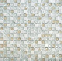 Мозаика Muare Стекло/Камень QSG-012-15/8 мозаика 30.5x30.5 см стоимость