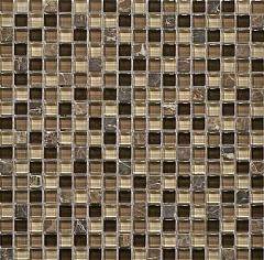 Мозаика Muare Стекло/Камень QSG-035-15/8 мозаика 30.5x30.5 см стоимость