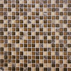 Мозаика Muare Стекло/Камень QSG-022-15/8 мозаика 30.5x30.5 см стоимость