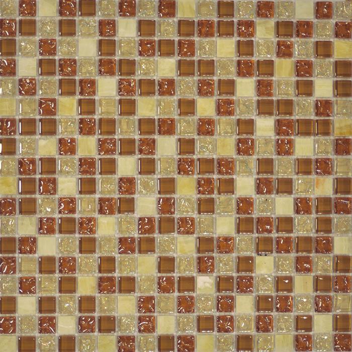 Мозаика Muare Стекло/Камень QSG-054-15/8 мозаика 30.5x30.5 см стоимость