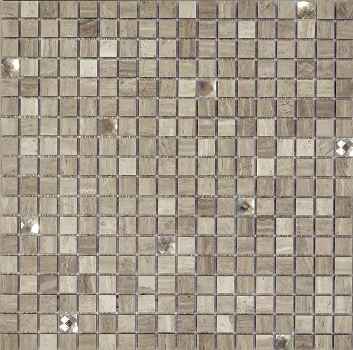Мозаика Muare Стекло/Камень QSG-062-15/8 мозаика 30.5x30.5 см стоимость
