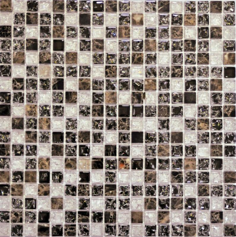 Мозаика Muare Стекло/Камень QSG-010-15/8 мозаика 30.5x30.5 см стоимость