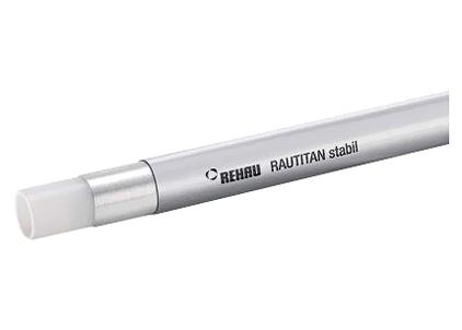 Труба Rehau Rautitan stabil 20x2.9 бухта (100 м) труба универсальная rehau rautitan stabil 32х4 7 мм