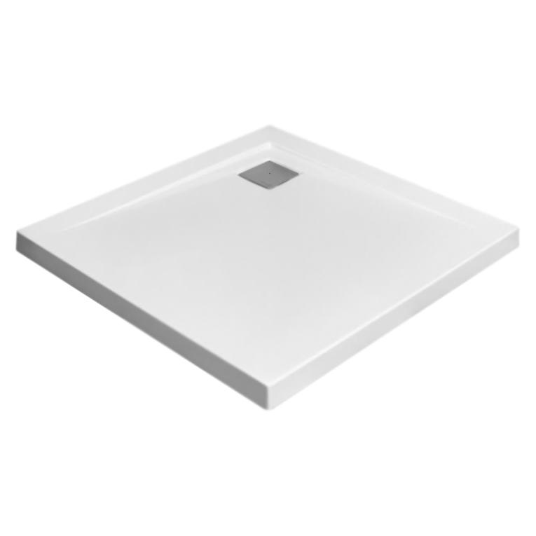 Argos C 80x80x6 белыйДушевые поддоны<br>Цельнолитой душевой поддон Radaway Argos C 4AC88-01 80x80x6 из акрила, низкий, квадратный.<br>Устойчивость к влаге и плесени<br><br>Монтаж, регулировка и комплектация:<br><br> Монтаж непосредственно на пол<br> Приклеивается на пену с низким коэффициентом расширения или на строительный раствор <br>Отверстие под сифон - 90 мм<br><br><br>При фирменном монтаже гарантийный срок: 5 лет.<br>