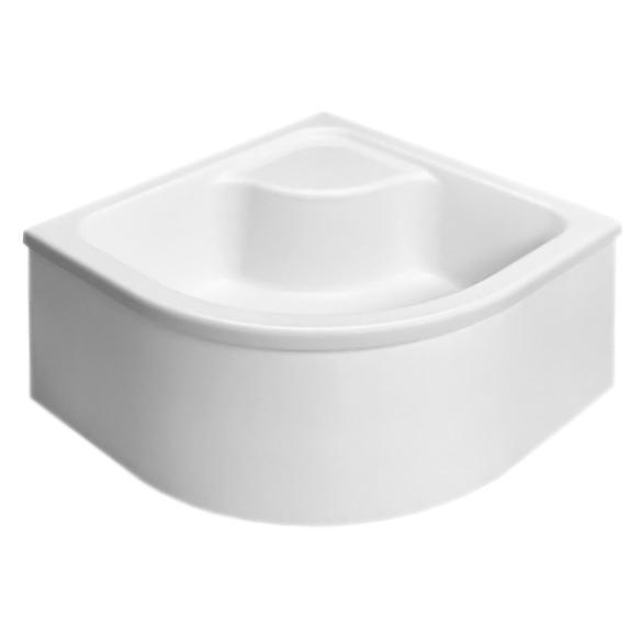 Naxos A 90x90x41 белыйДушевые поддоны<br>Акриловый душевой поддон Radaway Naxos A SBA9941-1 90x90x41 на базе из пенопласта, высокий, в форме четверти круга, с отлитым сиденьем.<br><br>Устойчивость к влаге и плесени<br>Эффективная изоляция шума воды<br>С первого прикосновения к поверхности чувствуется тепло<br>Поддон легко нагревается и медленно охлаждается<br><br>Монтаж, регулировка и комплектация:<br><br>Для облицовки мозаикой или плиткой<br>Отверстие под сифон - 50 мм<br><br><br>При фирменном монтаже гарантийный срок: 5 лет.<br>