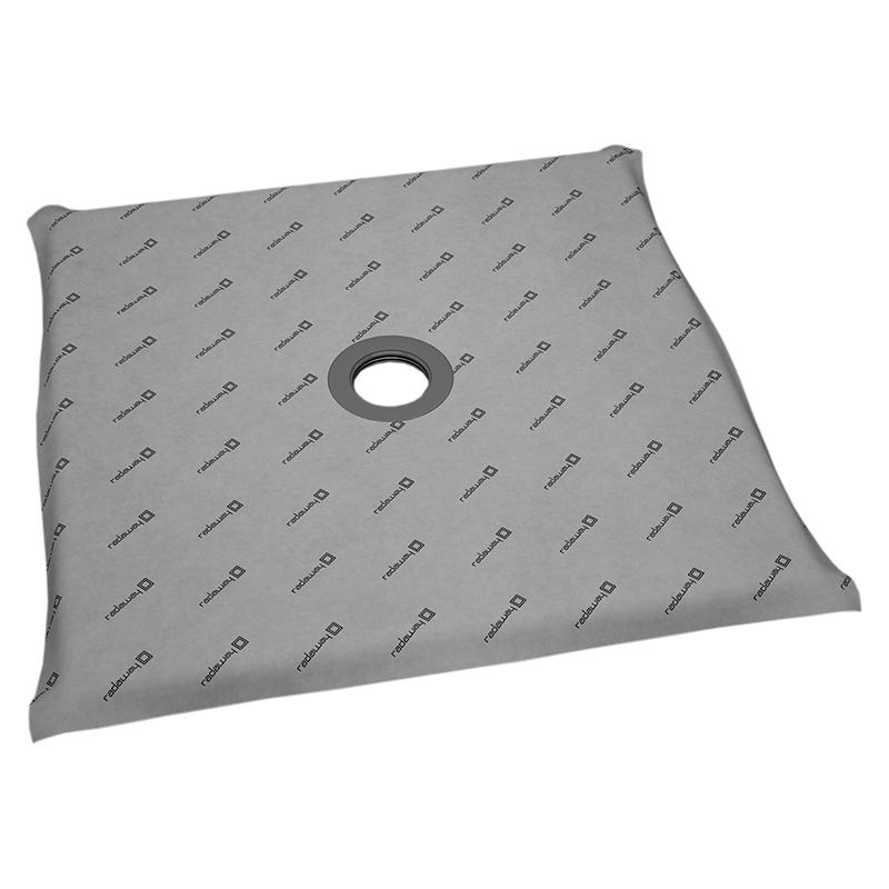 Душевая плита Radaway RadаDrain 109x109x5 с компактным трапом c декоративной решеткой