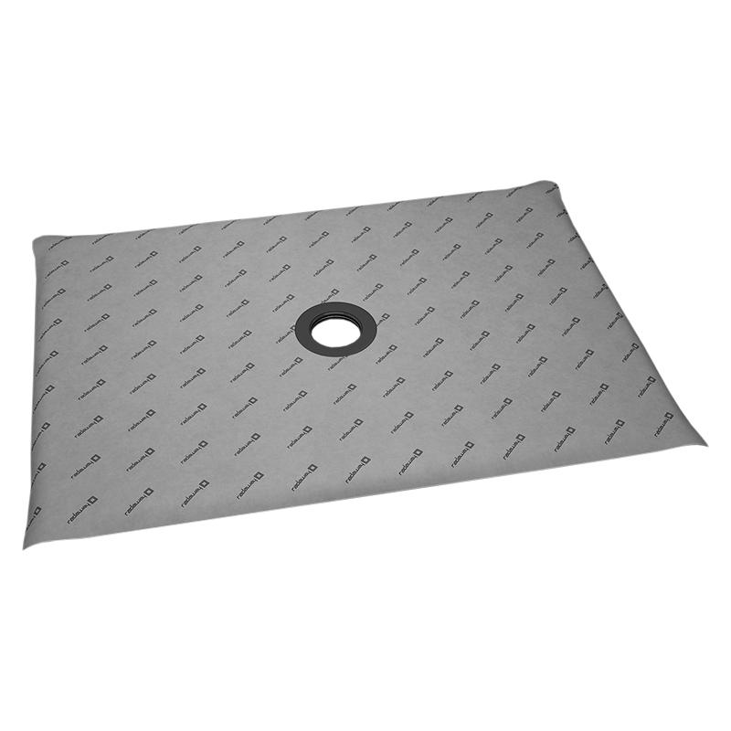 Душевая плита Radaway RadаDrain 79x109x5 с компактным трапом c декоративной решеткой