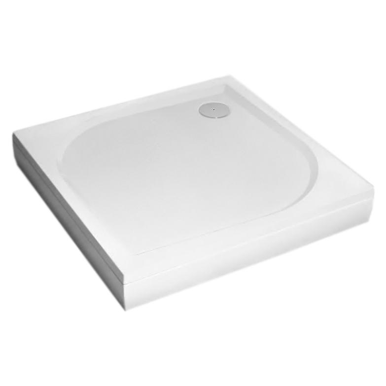 Душевой поддон из искусственного камня Radaway Paros C 100x100x13 белый фронтальная панель radaway front panel paros c 90x90 moc9090 03 1