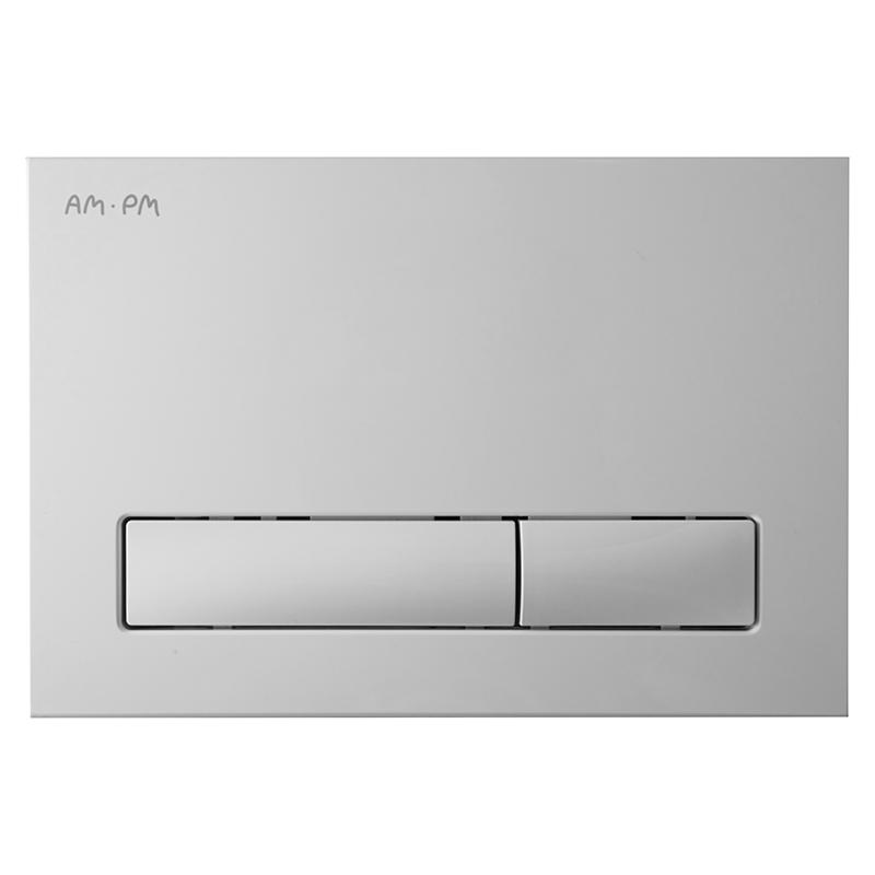 Awe I014101 белаяИнсталляции<br>Кнопка смыва АМ РМ Awe I014101 белого цвета.<br><br>Материал: ABS-пластик.<br>Механическое управление.<br>Экономный двойной смыв.<br>Размеры: Ш220xГ13xВ150 мм.<br><br>
