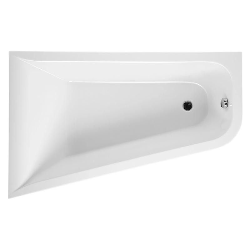 Inspire 160x100x56 белая, в правый уголВанны<br>Акриловая ванна AM PM Inspire W5AA-160R100W-A64 160x100x56 асимметричная, для установки в правый угол, объемом 225 литров. Комфортная и вместительная, в сочетании с оптимальным методом монтажа, экономящим полезную площадь, ванна может быть полностью встроена или установлена в угол.<br><br>Прочность в сочетании с малым весом<br>Эффективное звукопоглощение<br>Идеально гладкая поверхность<br>Акрил быстро нагревается и долго сохраняет тепло<br>С первого прикосновения чувствуется тепло из-за низкой теплопроводности<br>Диаметр сливного отверстия 50 мм<br><br>