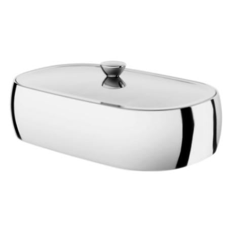 Sensation A3022000 хромАксессуары для ванной<br>Прямоугольная шкатулка для украшений АМ РМ Sensation A3022000.<br><br>Материал: латунь.<br>Покрытие: хром.<br>Размеры: 190x120 мм.<br><br>