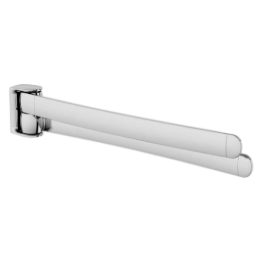 Sensation A3032600 хромАксессуары для ванной<br>Настенный держатель для полотенец АМ РМ Sensation A3032600, двойной, поворотный.<br><br>Материал: латунь.<br>Покрытие: хром.<br>Ширина: 441 мм.<br><br>