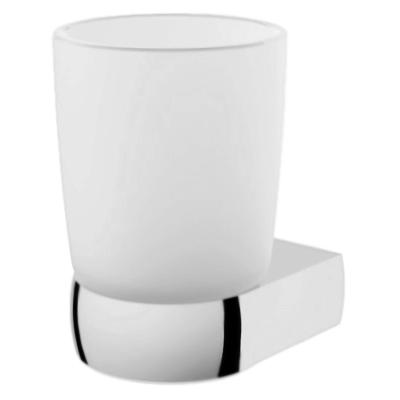 Sensation A3034300 хром/матовое стеклоАксессуары для ванной<br>Стакан с настенным держателем АМ РМ Sensation A3034300.<br><br>Материал: латунь/матовое стекло.<br>Покрытие: хром.<br>Высота: 111 мм.<br>Диаметр стакана: 77 мм.<br><br>
