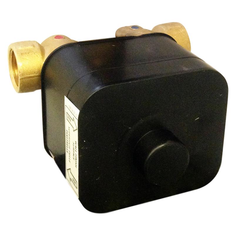 Elio/Living AC0928 G3/4Смесители<br>Внутренняя часть Webert Elio/Living AC0928015 для встраиваемого термостатического смесителя для душа.<br><br>На один поток воды.<br>Картридж 35 мм.<br>Стандарт подключения G3/4.<br>С защитой корпуса от образования конденсата и от просачивания.<br><br>