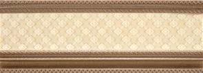 Керамический бордюр Rocersa Stucco Cen. Experience Desc Gold 9х25 см цена