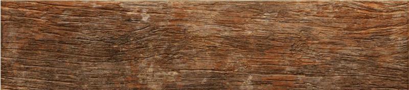 Керамическая плитка Oset Truss Anti-slip Brown напольная 15х66