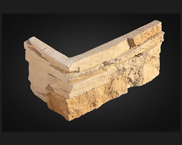 Искусственный камень Leonardo Stone Корсика угловой элемент - фото